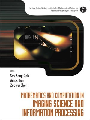 cover image of Mathematics and Computation In Imaging Science and Information Processing