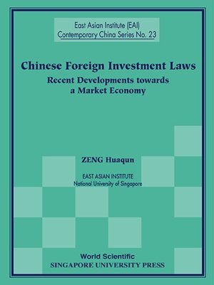 cover image of Chinese Foreign Investment Laws