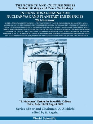 cover image of Water-pollution--Proceedings of the International Seminar On Nuclear War and Planetary Emergencies--25th Session