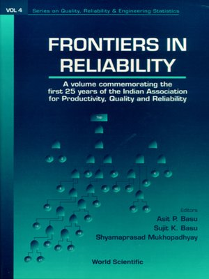 cover image of Frontiers of Reliability