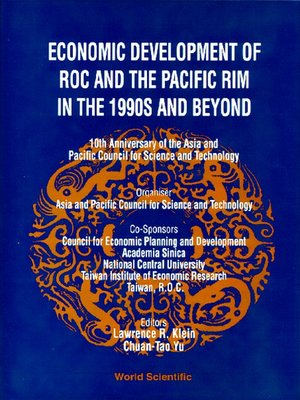 cover image of Economic Development of Roc and the Pacific Rim In the 1990s and Beyond