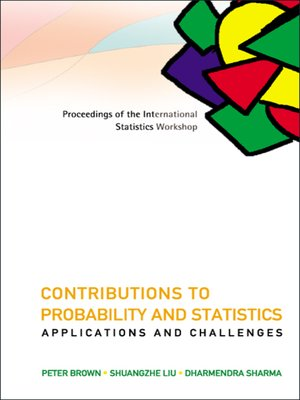 cover image of Contributions to Probability and Statistics
