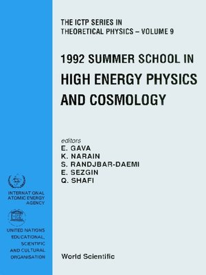 cover image of High Energy Physics and Cosmology--Proceedings of the 1992 Summer School