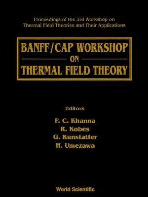 cover image of Thermal Field Theory