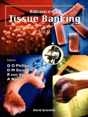 cover image of Advances In Tissue Banking, Vol 2