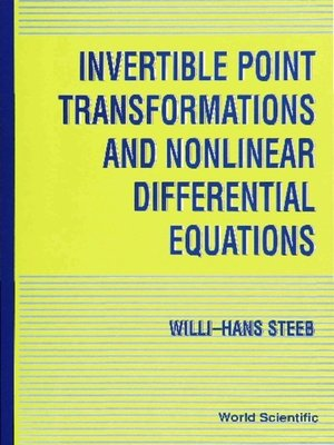 cover image of Invertible Point Transformations and Nonlinear Differential Equations