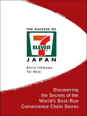 cover image of The Success of 7-eleven Japan