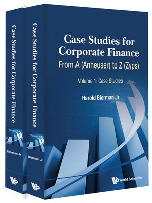 cover image of Case Studies For Corporate Finance