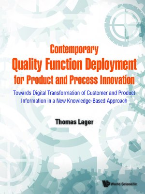 cover image of Contemporary Quality Function Deployment For Product and Process Innovation