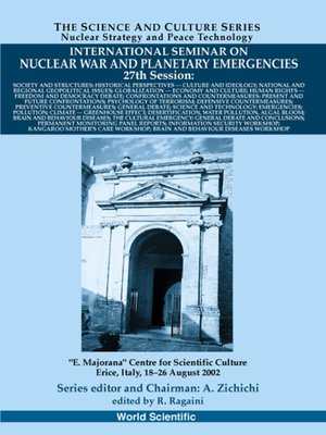 cover image of Society and Structures, Proceedings of the International Seminar On Nuclear War and Planetary Emergencies--27th Session