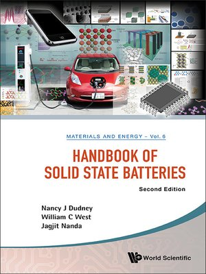 cover image of Handbook of Solid State Batteries ()