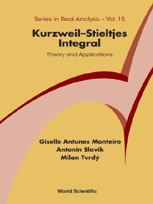 cover image of Kurzweil-stieltjes Integral