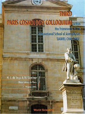 cover image of Third Paris Cosmology Colloquium--Proceedings of the Third Paris Cosmology Colloquium Within the Framework of the International School of Astrophysics