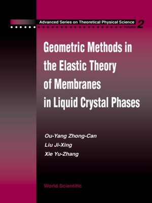 cover image of Geometric Methods in the Elastic Theory of Membranes in Liquid Crystal Phases
