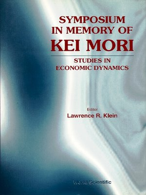 cover image of Symposium In Memory of Kei Mori