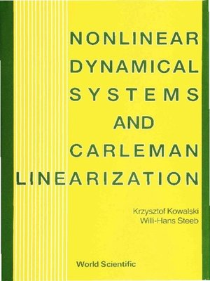 cover image of Nonlinear Dynamical Systems and Carleman Linearization