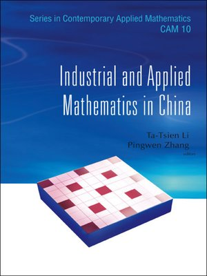 cover image of Industrial and Applied Mathematics In China