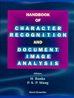 cover image of Handbook of Character Recognition and Document Image Analysis