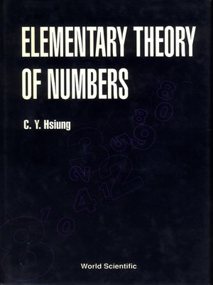 cover image of Elementary Theory of Numbers