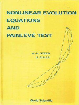 cover image of Nonlinear Evolution Equations and Painleve Test