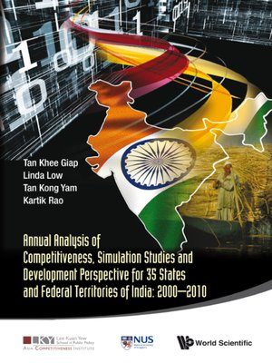cover image of Annual Analysis of Competitiveness, Simulation Studies and Development Perspective For 35 States and Federal Territories of India