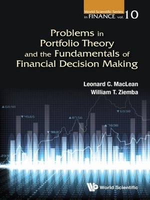 cover image of Problems In Portfolio Theory and the Fundamentals of Financial Decision Making