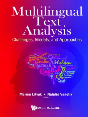 cover image of Multilingual Text Analysis
