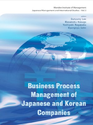 cover image of Business Process Management of Japanese and Korean Companies