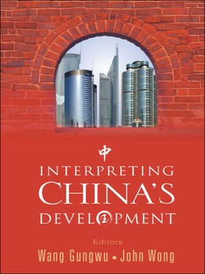 cover image of Interpreting China's Development
