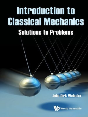 cover image of Introduction to Classical Mechanics
