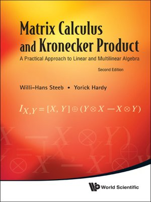 cover image of Matrix Calculus and Kronecker Product