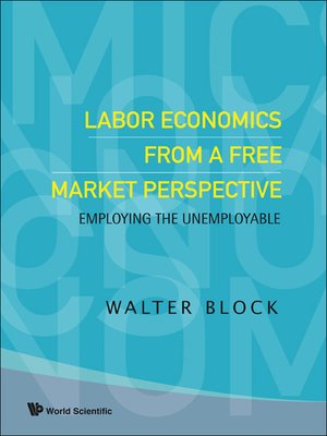 cover image of Labor Economics From a Free Market Perspective