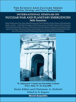 cover image of International Seminar On Nuclear War and Planetary Emergencies--36th Session
