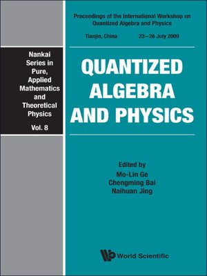 cover image of Quantized Algebra and Physics--Proceedings of the International Workshop