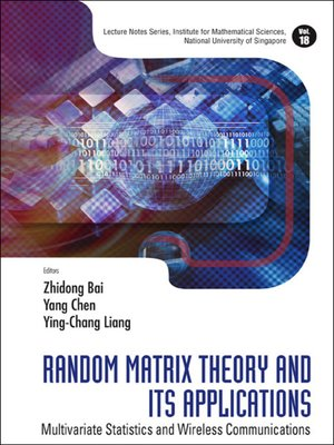 cover image of Random Matrix Theory and Its Applications