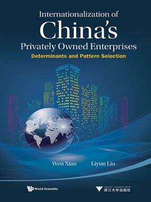 cover image of Internationalization of China's Privately Owned Enterprises