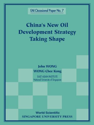 cover image of China's New Oil Development Strategy Taking Shape