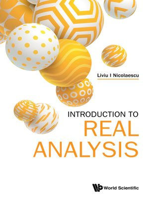 cover image of Introduction to Real Analysis