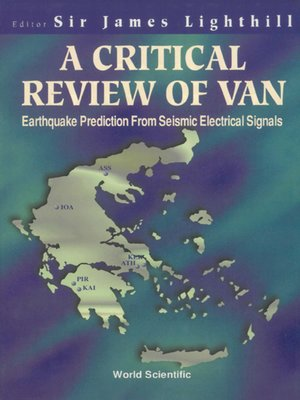 cover image of A Critical Review of Van