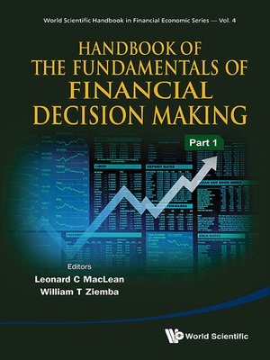 cover image of Handbook of the Fundamentals of Financial Decision Making (In 2 Parts)