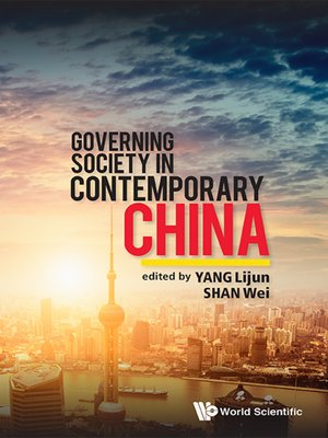 cover image of Governing Society In Contemporary China