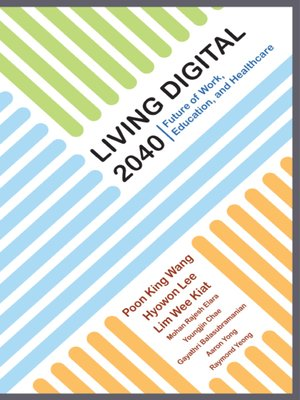 cover image of Living Digital 2040