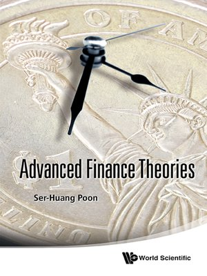 cover image of Advanced Finance Theories