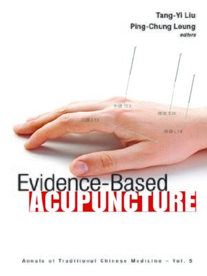 cover image of Evidence-based Acupuncture