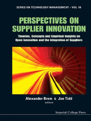 cover image of Perspectives On Supplier Innovation