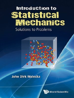 cover image of Introduction to Statistical Mechanics