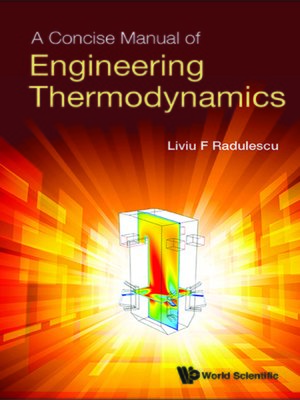 cover image of A Concise Manual of Engineering Thermodynamics