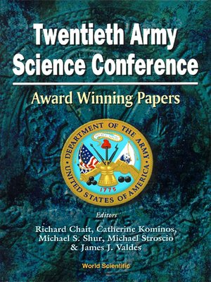 cover image of Twentieth Army Science Conference--Award Winning Papers