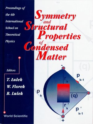 cover image of Symmetry and Structural Properties of Condensed Matter--Proceedings of the 4th International School On Theoretical Physics