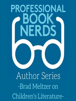 cover image of Brad Meltzer and the Importance of Children's Books